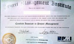 PMP PDU certification